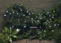 Smart Solar Garden Solar Light String - 30 White Led Stars