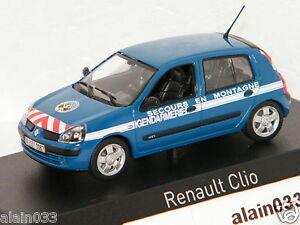 RENAULT-CLIO-2003-Gendarmerie-Secours-en-Montagne-NOREV-1-43-Ref-517513