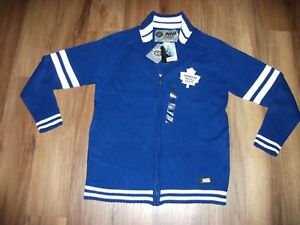 hot sale online 1a44c 42187 Details about BRAND NEW W/ TAGS TORONTO MAPLE LEAFS WOOL TYPE HOCKEY JERSEY  SWEATER MEN MEDIUM