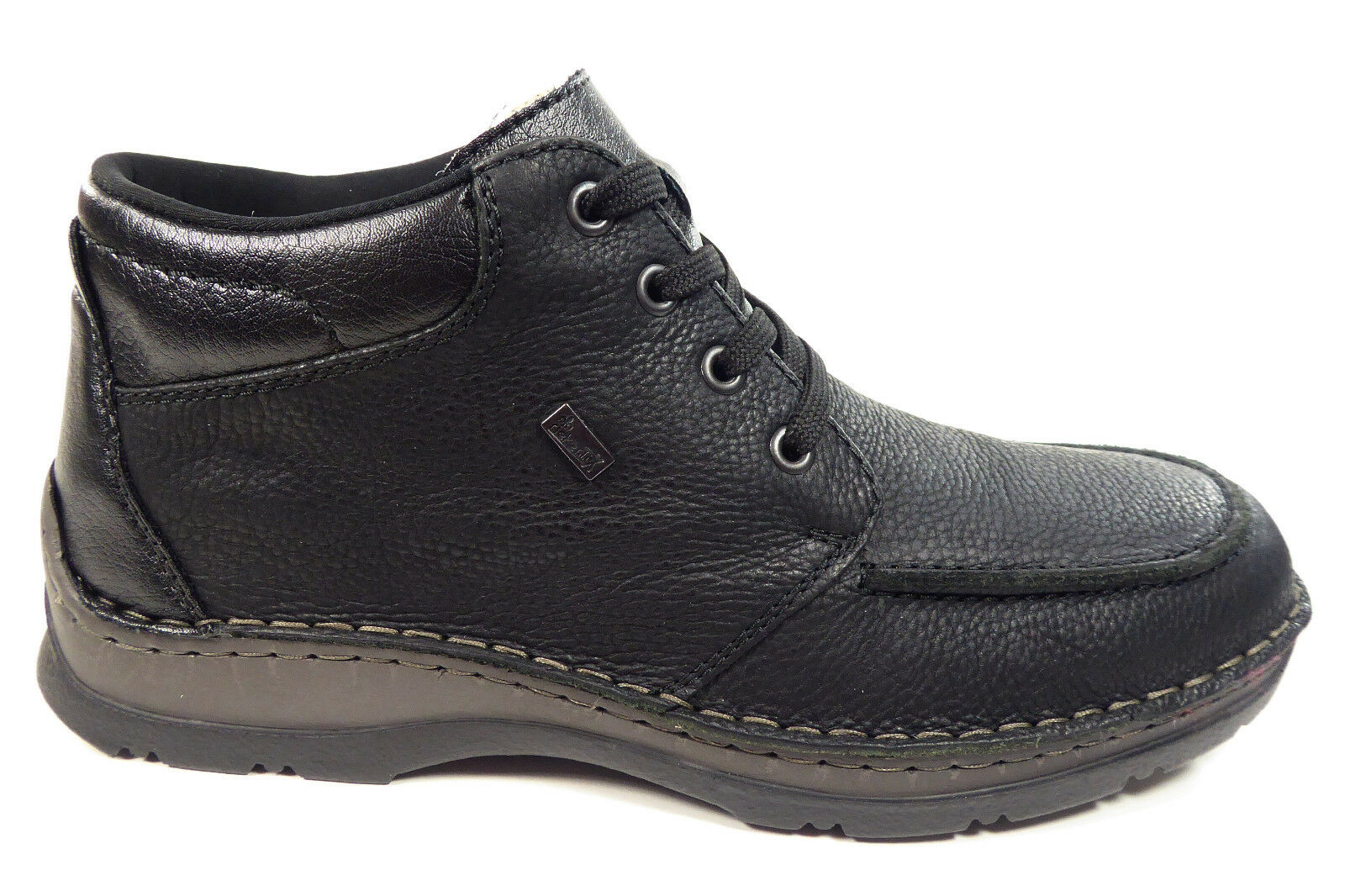 Rieker Herrenschuhe Stiefeletten Boots mit Tex-Membran in Schwarz 05332-01