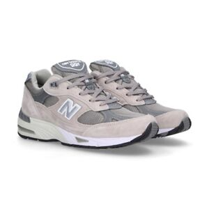 NEW-BALANCE-Made-in-UK-991-Classic-Scarpe-Donna-Sneakers-GREY-W991GL