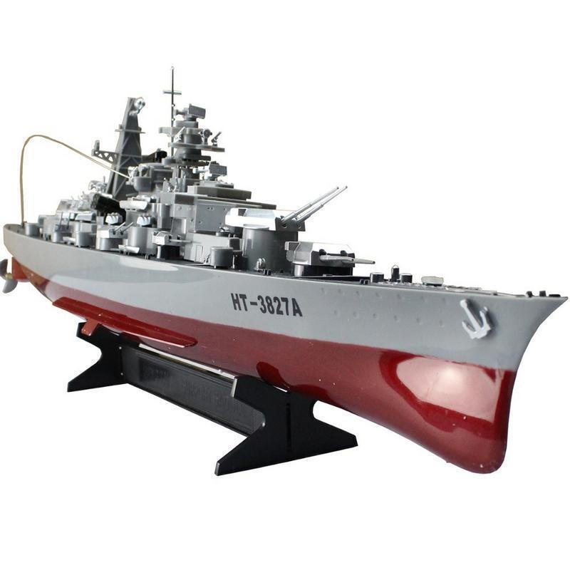 la vostra soddisfazione è il nostro obiettivo Nave da da da Guerra Radiocouomodata Battleship Scala 1 360 HT-3827A 40Mhz  liquidazione fino al 70%