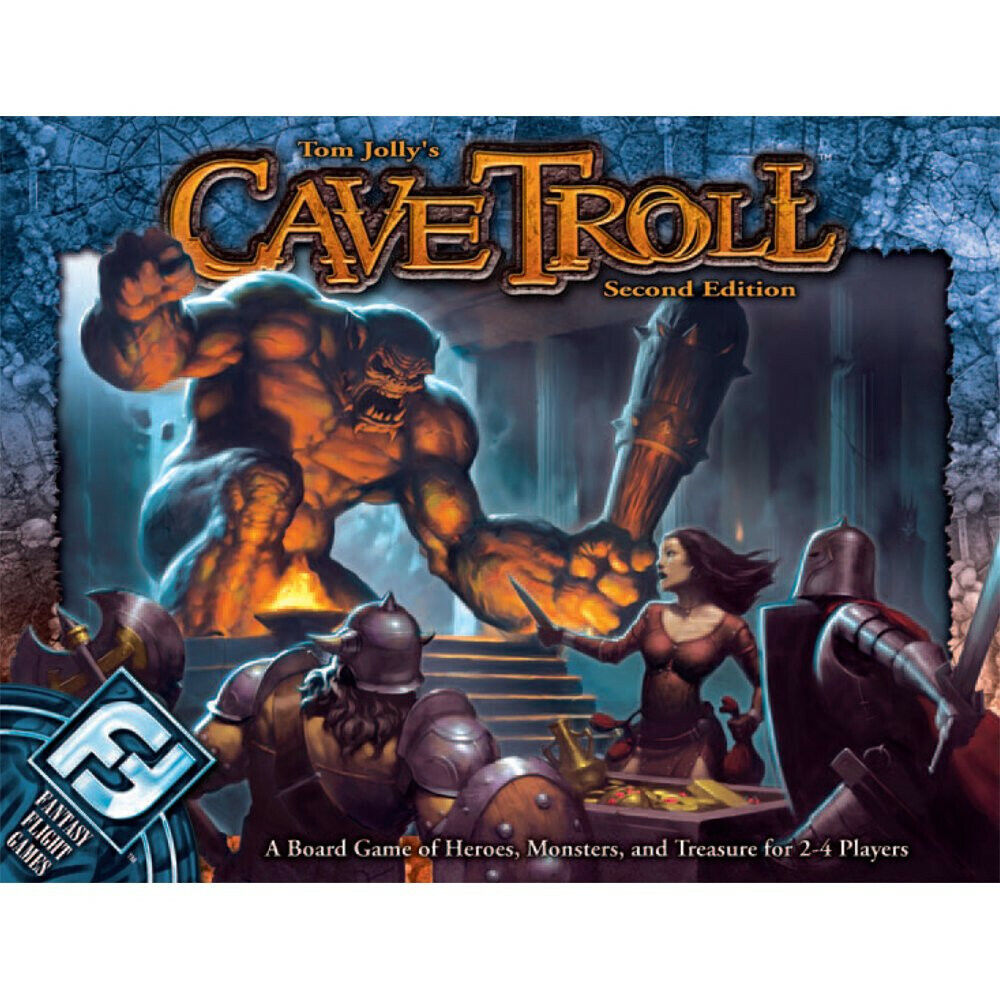 Cave Troll 2nd Edition Board Game 2006 Fantasy flightgames