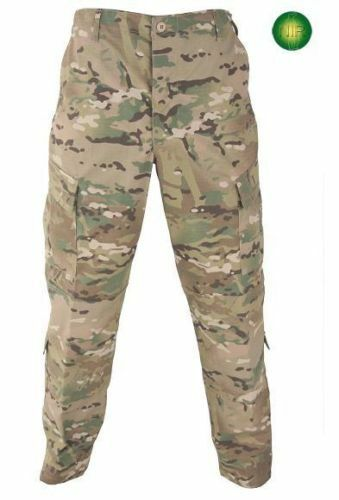 US Army Multicam FR ACU Defender OCP Hose Trousers Tarnhose USA Large Short
