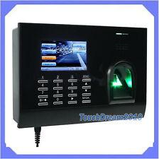 Biométrico de huellas dactilares Tiempo dispositivo registrador de tiempo