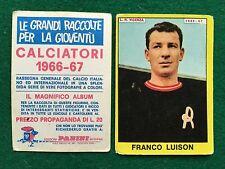 CALCIATORI 1966/67 66/1967 L.R.VICENZA LUISON Figurina Sticker Panini (NEW)