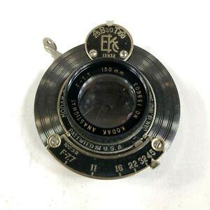 Kodak-Eastman-Anastigmat-Shutter-f-7-7-130mm-Optical-Vintage-Camera-Lens
