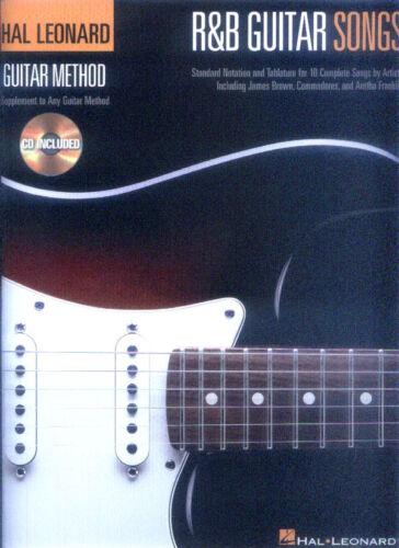 R/&B Guitar Songs Hal Leonard Method Gitarre Noten Tab mit Play-Along CD
