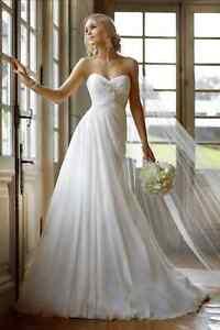 Vestiti Da Sposa Wedding.Abito Da Sposa Wedding Dress Chiffon Bianco Avorio Colore A