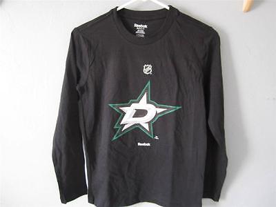 LiebenswüRdig Neu Dallas Stars Reebok Langarm T-shirt Jugendliche Xl Xl 42ek QualitäTswaren 18