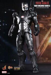 HOT-TOYS-1-6-Scale-MARVEL-Iron-Man-3-War-Machine-Mark-II-Diecast-figure-MMS198