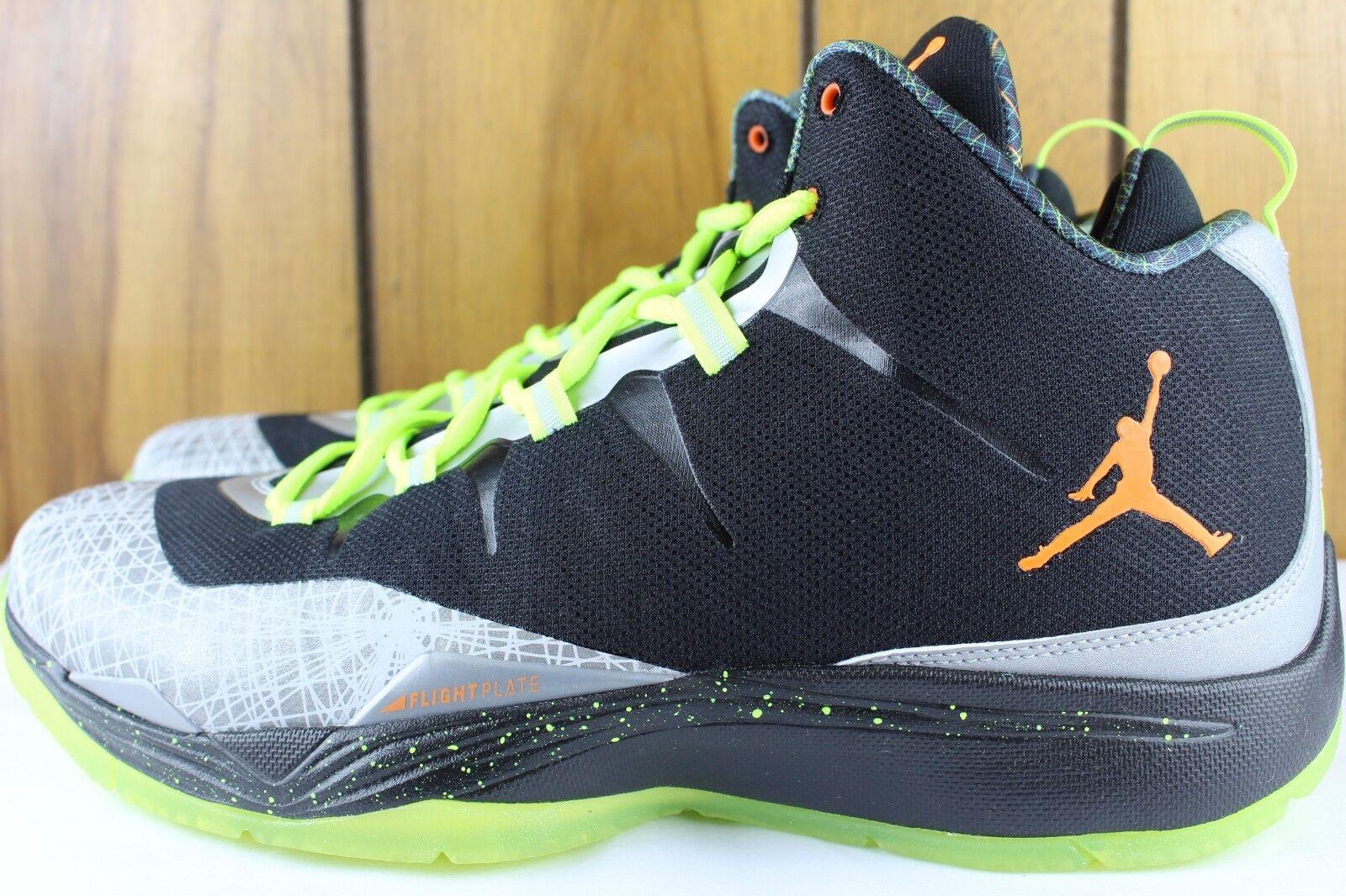 Nike Jordan Super Super Super Fly 2 Navidad Talla 11.0 total Naranja Reflejo Plateado 640315 025 89dfe0