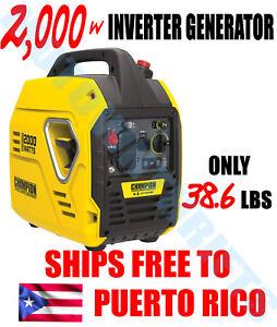 Champion-Power-Equipment-2000-Watt-Inverter-Generator-ENVIO-GRATIS-A-PUERTO-RICO