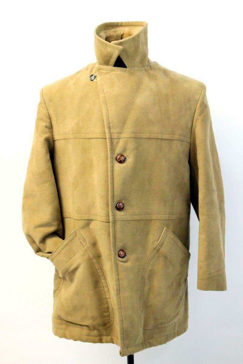 Vintage JOHN WEITZ CASUALCRAFT Faux Fur Lined Coa… - image 1