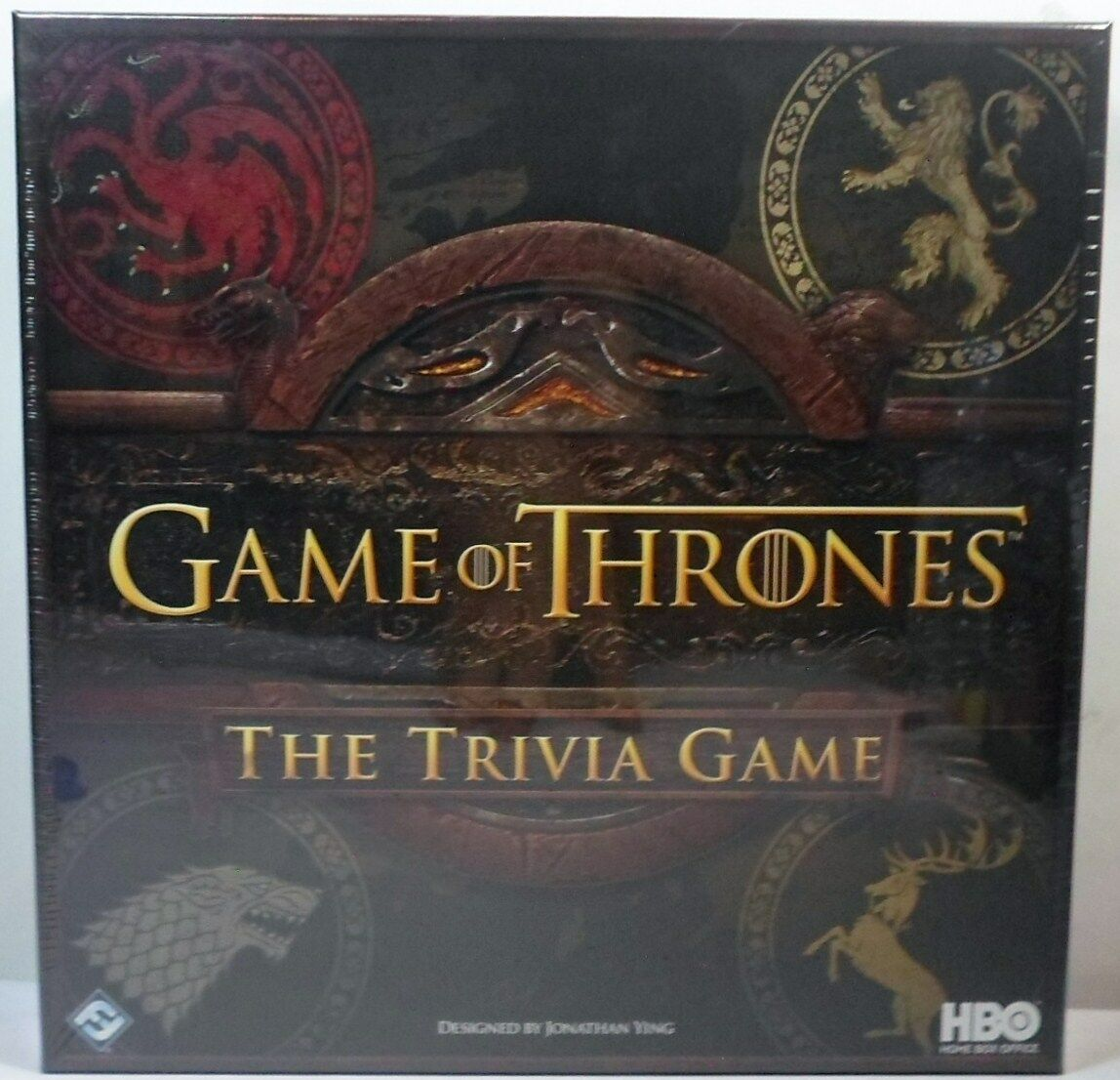 FANTASY FLIGHT 2015 HBO GAME OF THRONES THE TRIVIA GAME - BOARD GAME SEALED