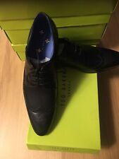 486bc20d802b1 item 1 New Ted Baker Mens Black Leather Shoes OAKKE WC DERBY. RRP£110. Size  UK10