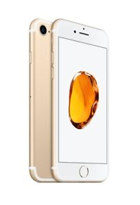 NEW(OTHER) GOLD VERIZON GSM UNLOCKED 128GB APPLE IPHONE 7 SMART PHONE JU86 B