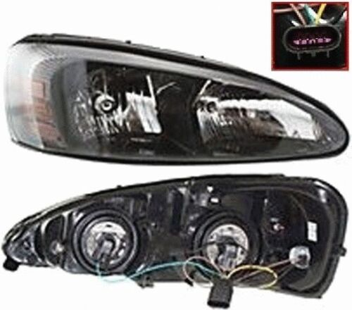 04 05 06 07 08 New Headlight Headlamp Head Light Lamp Right Hand With Bulbs DOT