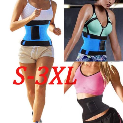 Unisex Xtreme Power Belt Hot Slimming Thermo Shaper Waist Trainer Sport Belts