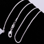 10PCS-Wholesale-925-Sterling-plated-Silver-1MM-Snake-Chain-Necklace-16-30inch thumbnail 3