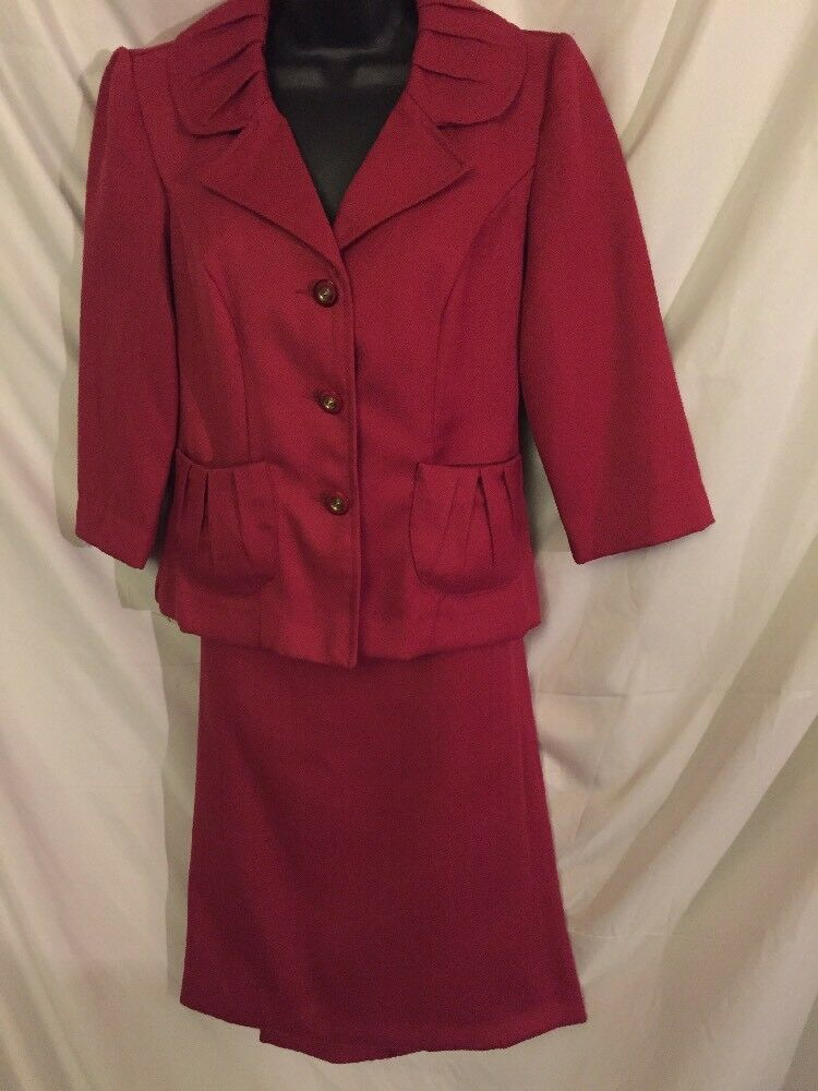 Hailey Morgan Skirt Suit In Size 6