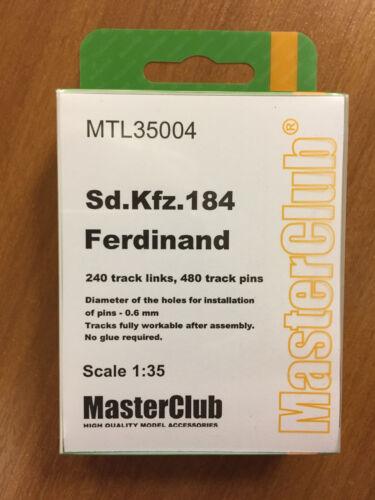 1//35 Metal Tracks for Sd.Kfz.184 Ferdinand MTL-35004 MasterClub
