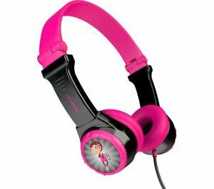 JLAB AUDIO JBuddies Folding Kids Headphones - Pink - Currys