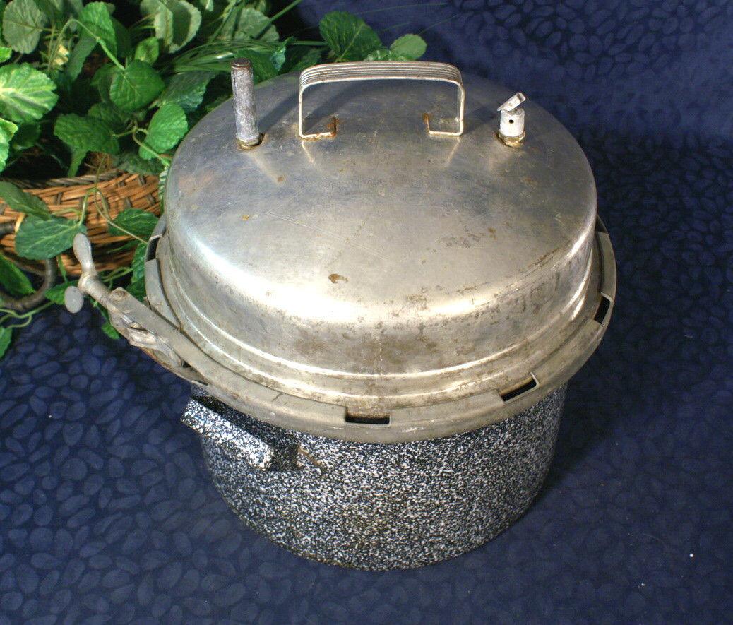 Vintage BURPEE spécial cuisinière émaillée Cocotte