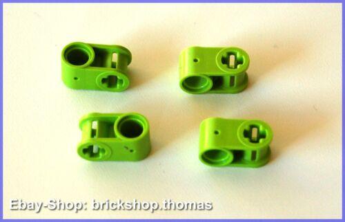 NEU / NEW Axle Lime 6536 Lego Technic 4 x Gelenkverbinder Umlenkung grün