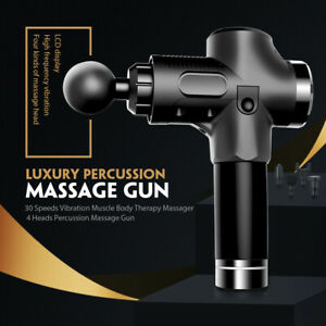 Muscle Massage Gun Vibration Percussive Relax Therapy Athlete Sports Recovery