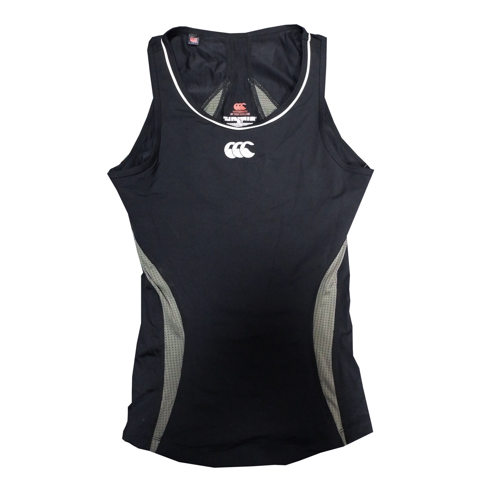 76760553524a Canterbury Baselayer Hot Workout Vest Ladies Gym Top CCC New