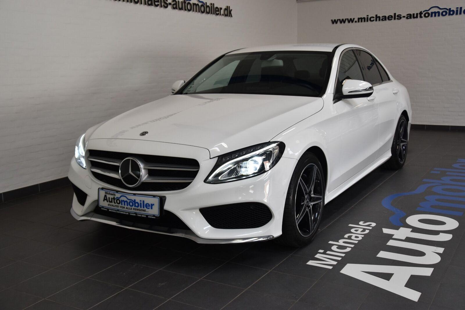 Mercedes C220 d 2,2 AMG Line aut. 4d - 349.900 kr.