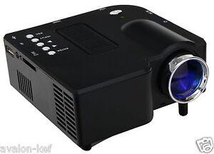Mini Projecteur Led Lcd 20k+ 200 Cm A/v,usb,hd,48 Lumens,silencieux,hdmi,sd,dd Iiinxedg-07163231-908818392