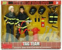 M & C Toy Power Team Elite Tag Team Special Unit And Rescue Service