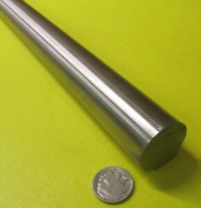 "+//-.001/"" x 1 FT Length 1/"" Dia A2 Tool Steel Ground Drill Rod"