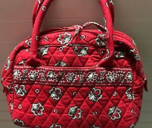 Vera-Bradley-Retired-Rare-Red-Bandanna-Toastie-Handbag-Purse