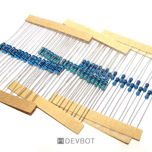 Kit 60 Résistances: 20 x 3 valeurs: 1,8K 4,7K et 33K Ω Ohm Pi Arduino DIY