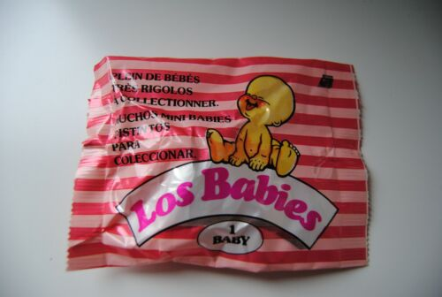 4 BABIES LOS BABIES 1 BABY NEUF NEW SCELLE NEW IDEAL EL GRECO ACTION GT