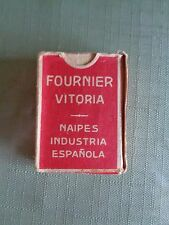 Naipe Liliput de 48 cartas Cards Extra-Fino Fournier Victoria Vintage 1950's