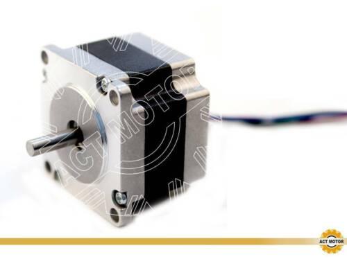 DE Free 1PC Nema23 Schrittmotor 23HS4430-06 3A 41mm 0.6Nm D-Shaft Φ6.35mm 85oz