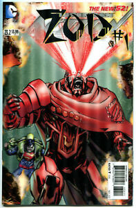 ACTION-COMICS-23-2-NM-Zod-3-D-Lenticular-cover-Superman-more-in-store