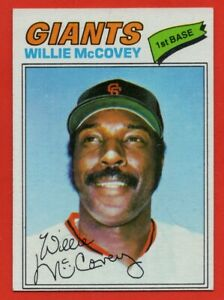 1977-Topps-547-Willie-McCovey-Near-Mint-San-Francisco-Giants-FREE-SHIPPING