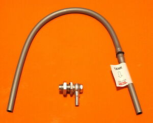 DUCATI NCR TYPE FUEL TANK BREATHER VALVE ASSEMBLY /TUBE WITH 1 WAY VENT VALVE