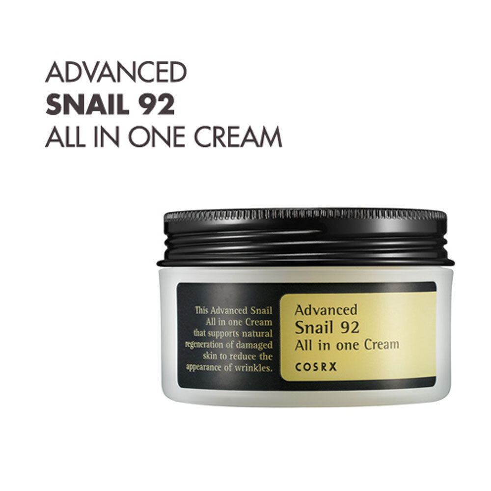 COSRX Advanced Snail 92 All in one Cream 100g 3.52oz Anti Aging/ Wrinkle Cream