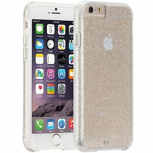 NEW Case-Mate Sheer Glam Champagne  for iPhone 6/6S 4.7 model