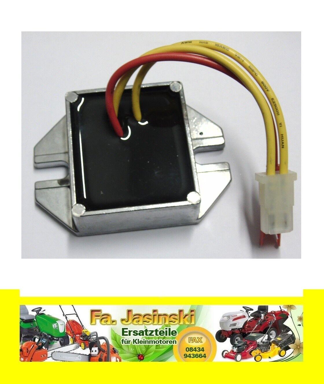 Regulador de voltaje para Briggs 394890 + 691185 para 18 hasta 20 PS, 10a, 13a, 16a