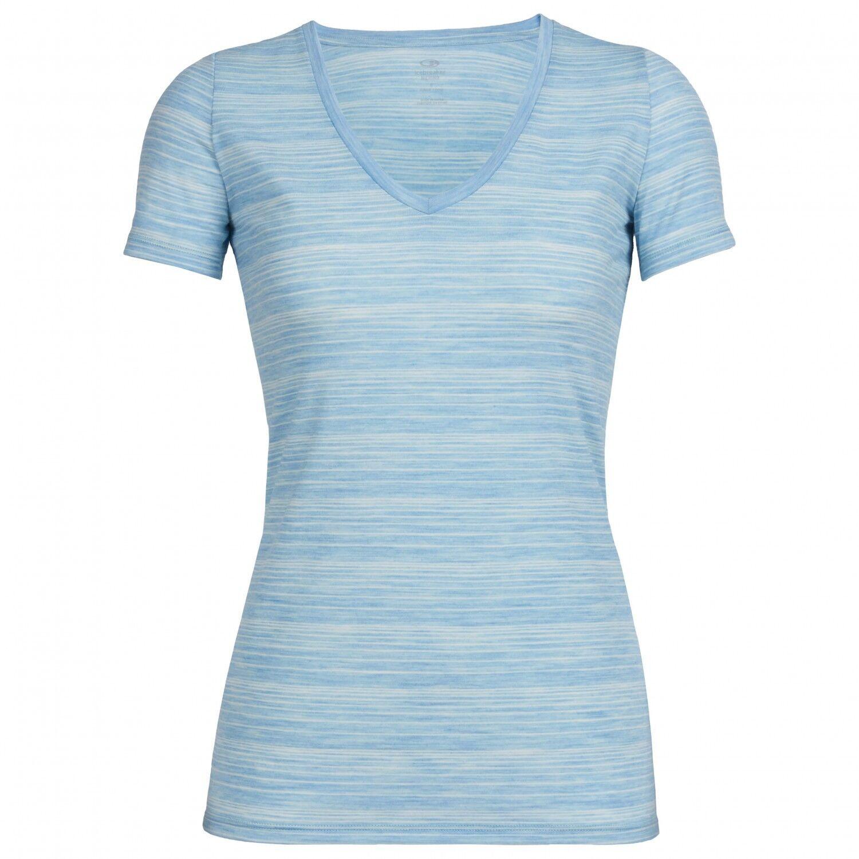 Icebreaker TECH LITE SHORT SLEEVE V DAMEN DAMEN DAMEN Damen T-Shirt Merinowolle Modell 2018 cb111e