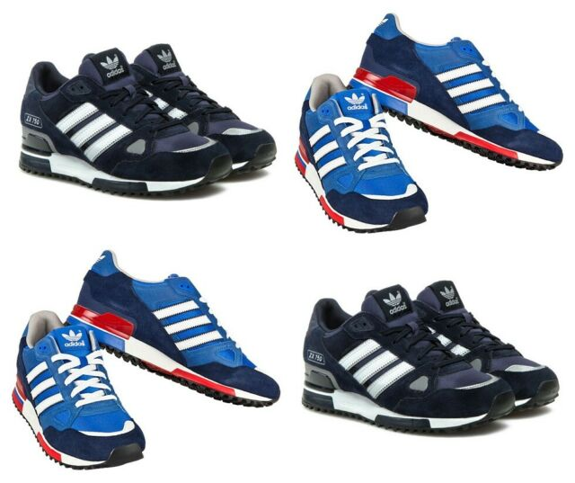 Adidas Originals ZX750 Mens Trainers Suede Running Sports Shoes Casual