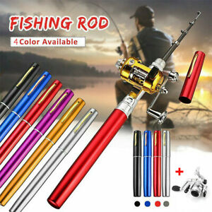 Portable-Telescopic-Mini-Pocket-Fish-Aluminum-Alloy-Fishing-Rod-Pen-Pole-Reel