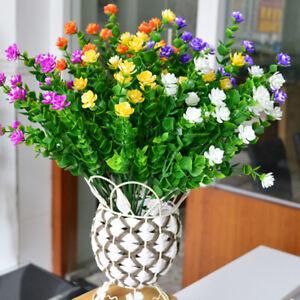 Am-1x-Artificial-Flower-Eucalyptus-Plant-Leaves-Garden-Wedding-Party-Decor-Heal